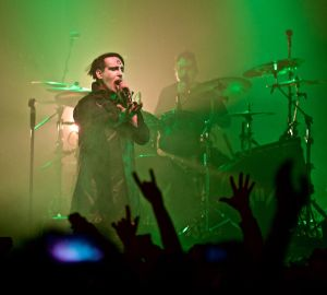 marilyn manson robert altman 30 Marilyn Manson in Concert NYC