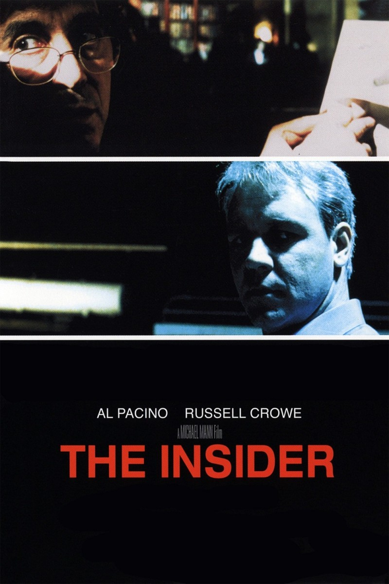 the insider 1999 Ranking + Dissected: Michael Mann
