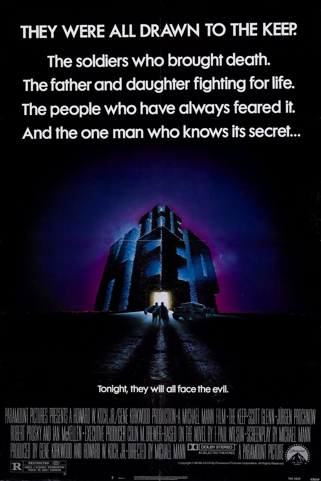 the keep 1983 Ranking + Dissected: Michael Mann