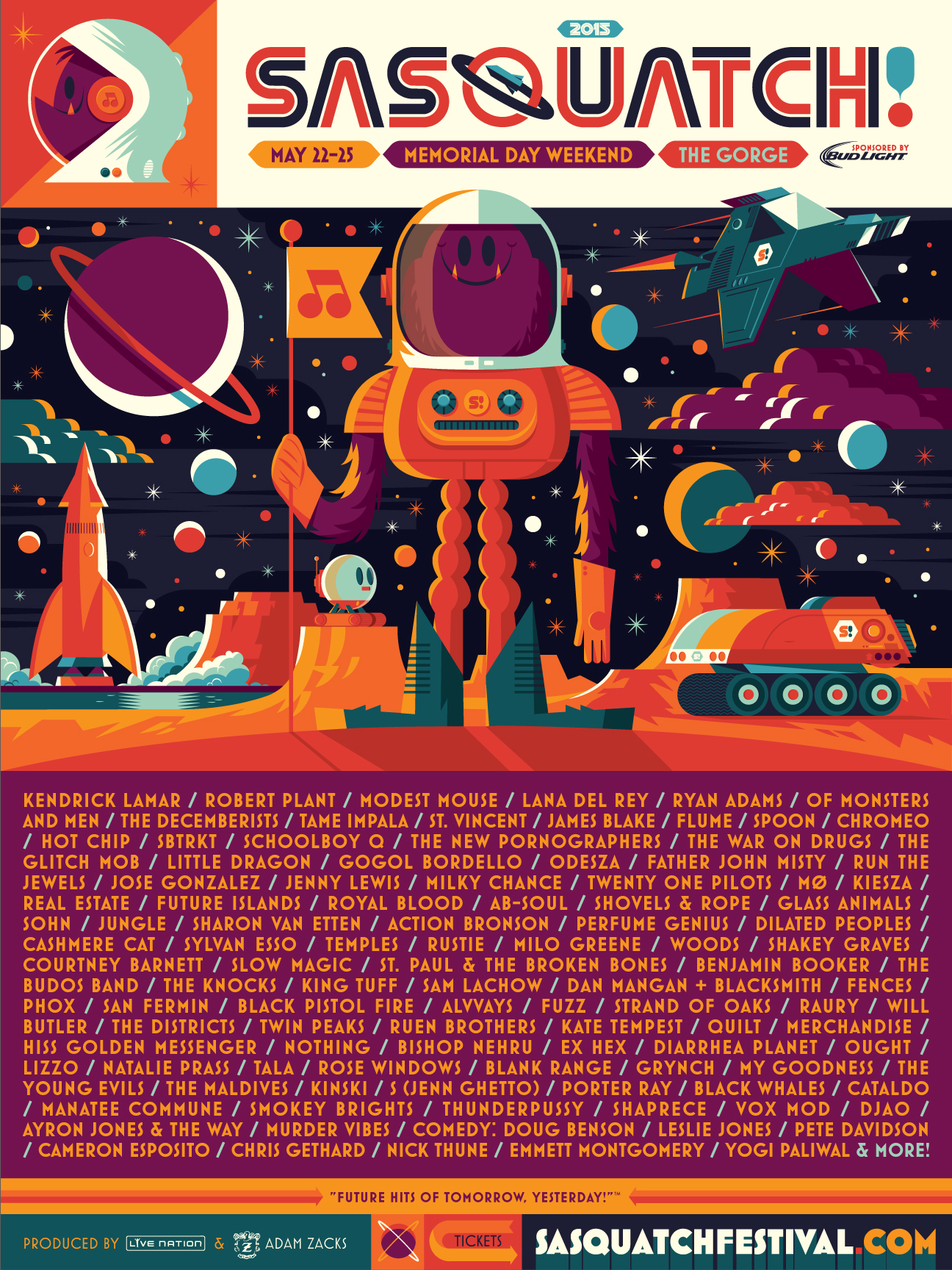 sasquatch2015 The Best of the Tiny Fonts in Sasquatch!s 2015 Lineup