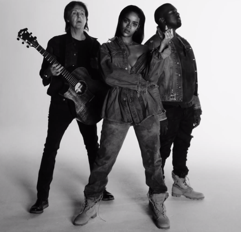 Rihanna Kanye Paul FourFiveSeconds