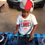 2-year-old DJ