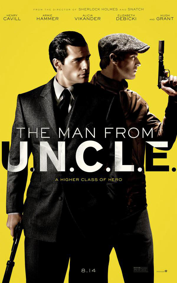 the man from uncle poster Trailer for The Man From U.N.C.L.E. premieres online    watch