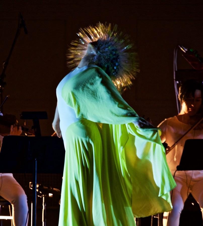 Bjork at Carnegie Hall