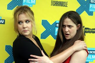 Amy Schumer and Kim Caramele // Photo by Heather Kaplan