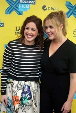 Vanessa Bayer and Amy Schumer // Photo by Heather Kaplan