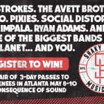 Shaky Knees giveaway