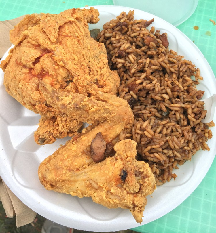 Fried Chicken and Jambalaya