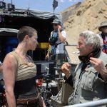 George Miller on set of Fury Road, Warner Bros