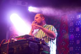 Dan Deacon // Photo by Rebecca Bulnes