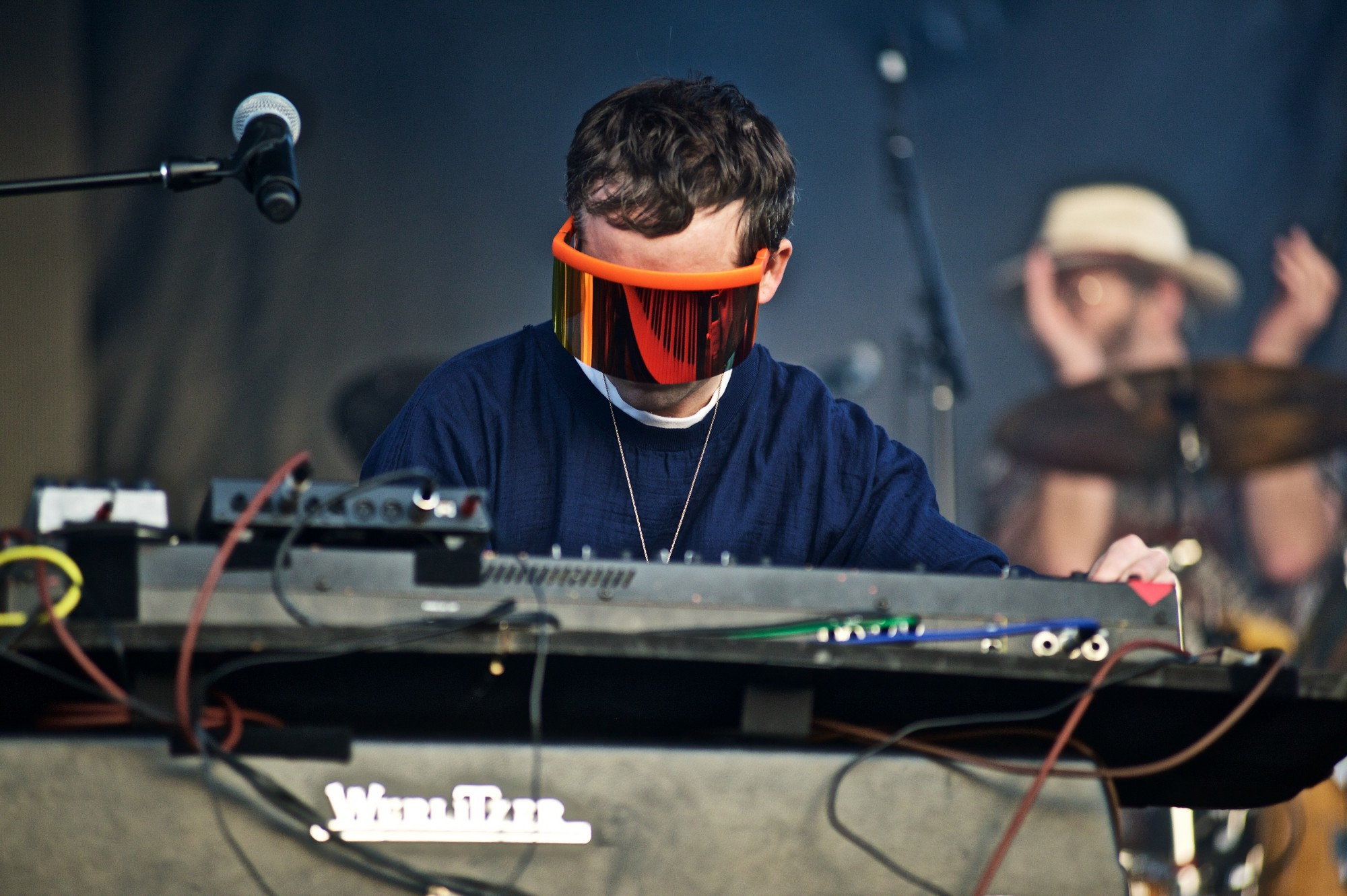 Hot Chip performs at The Governors Ball Music Festival