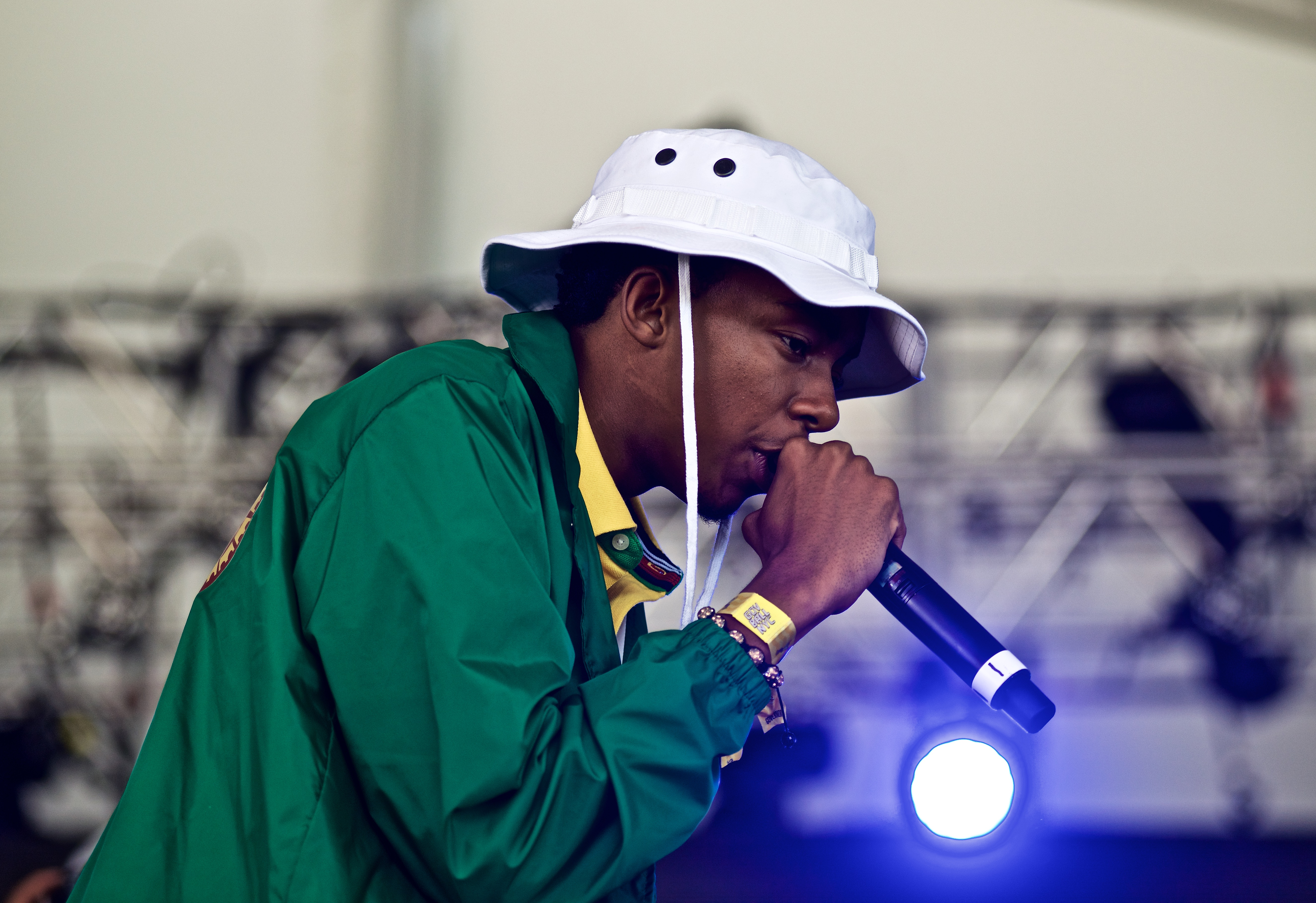 Bishop Nehru performs at The 2015 Governors Ball Music Festival New York - Day 3