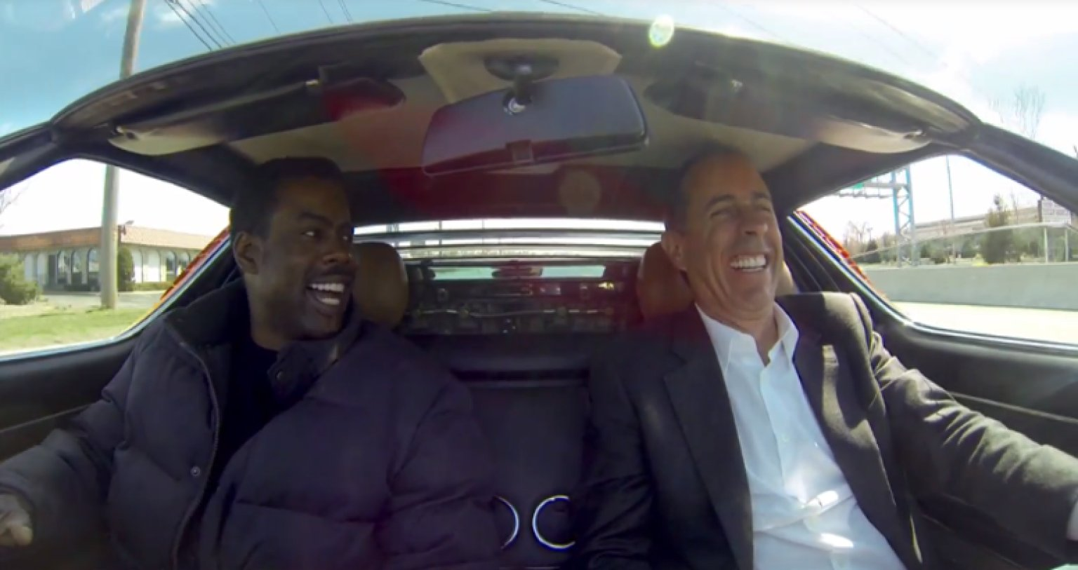 comedians cars Jerry Seinfeld, Comedy, and Punditry: What's the Deal?