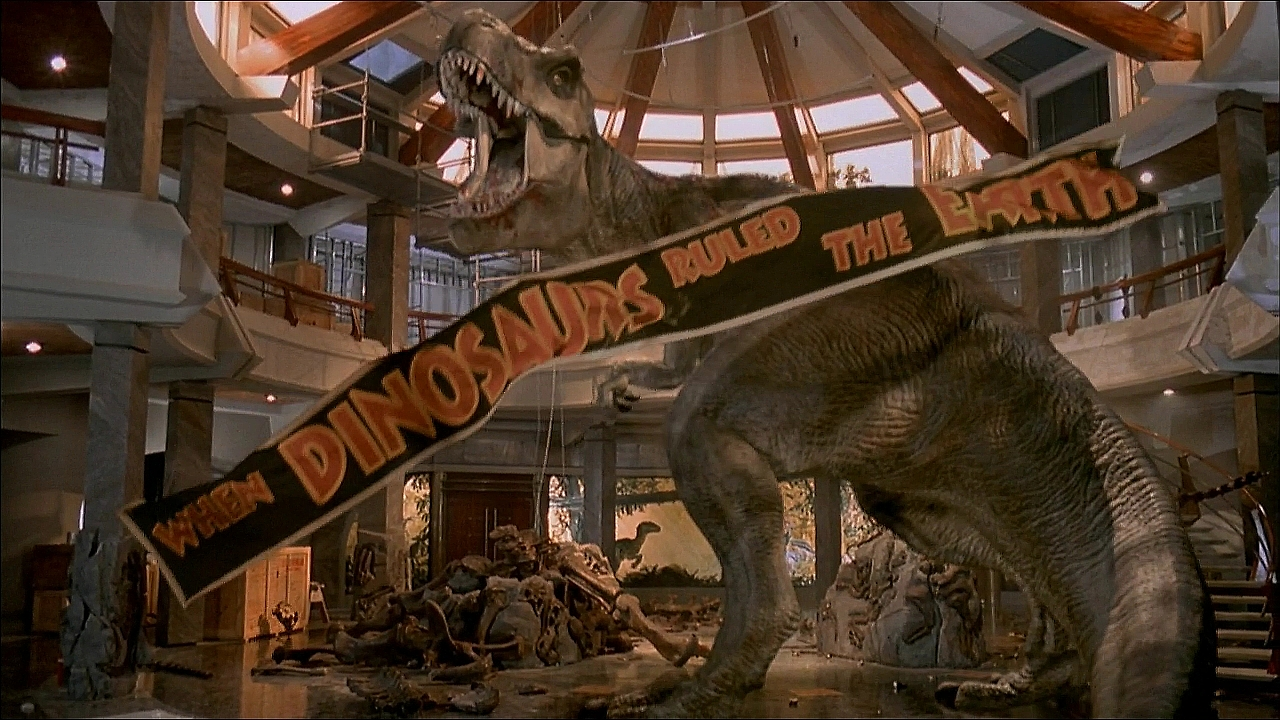 jurassic park 3d t rex A Tale of Two Jurassic Parks
