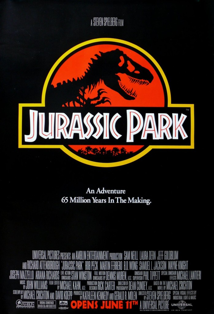 jurassic park poster Ranking: Every Steven Spielberg Movie from Worst to Best