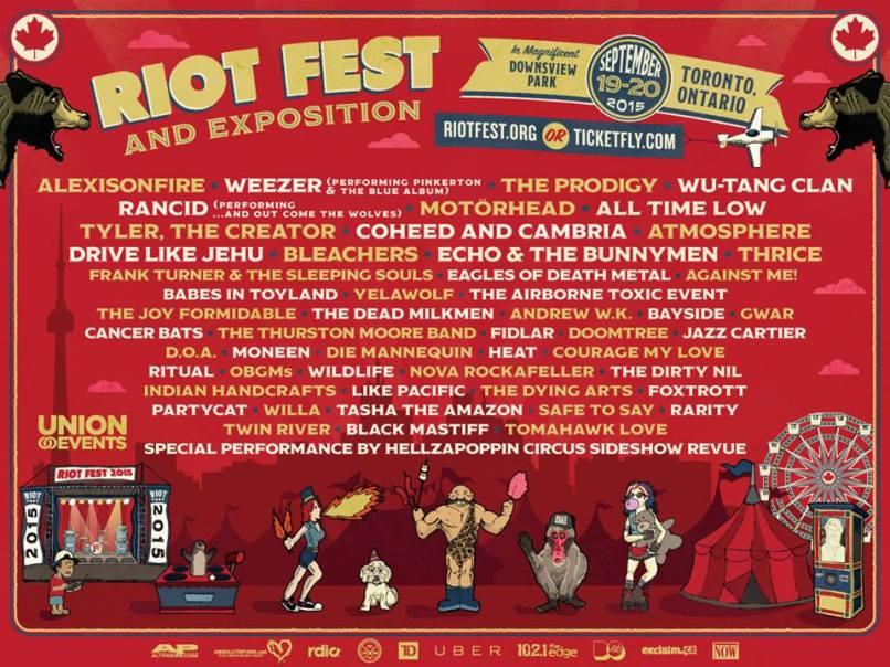 riotfest toronto