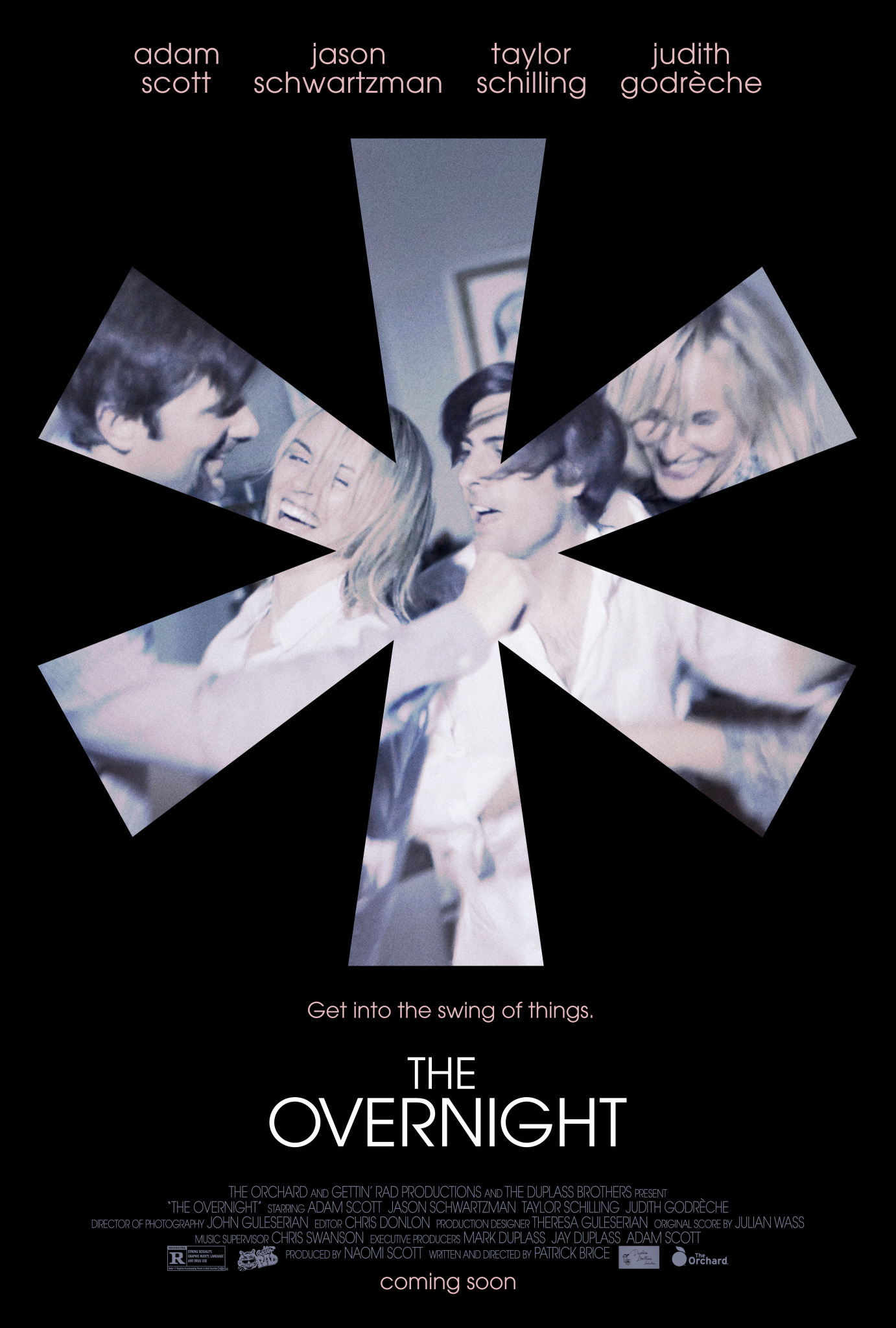 the overnight poster art Top 25 Films of 2015