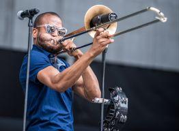 Trombone Shorty // Photo by David Brendan Hall
