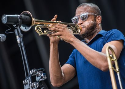 Trombone Shorty // Photo by David Brendan Hall