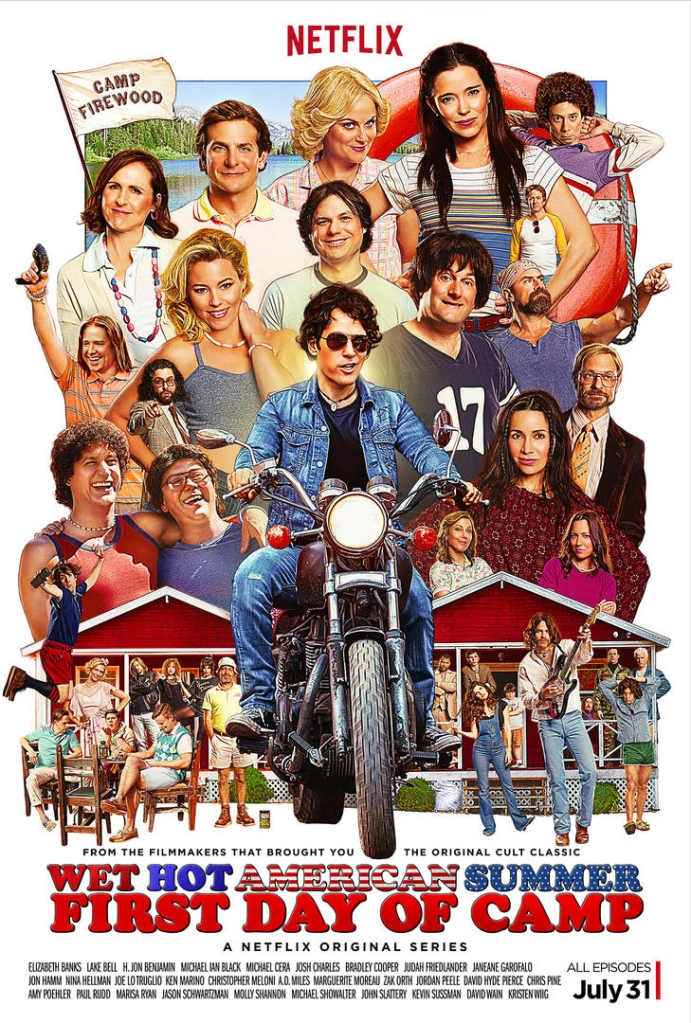 first day of camp Everyones really back in the first full trailer for Netflixs Wet Hot American Summer: First Day of Camp
