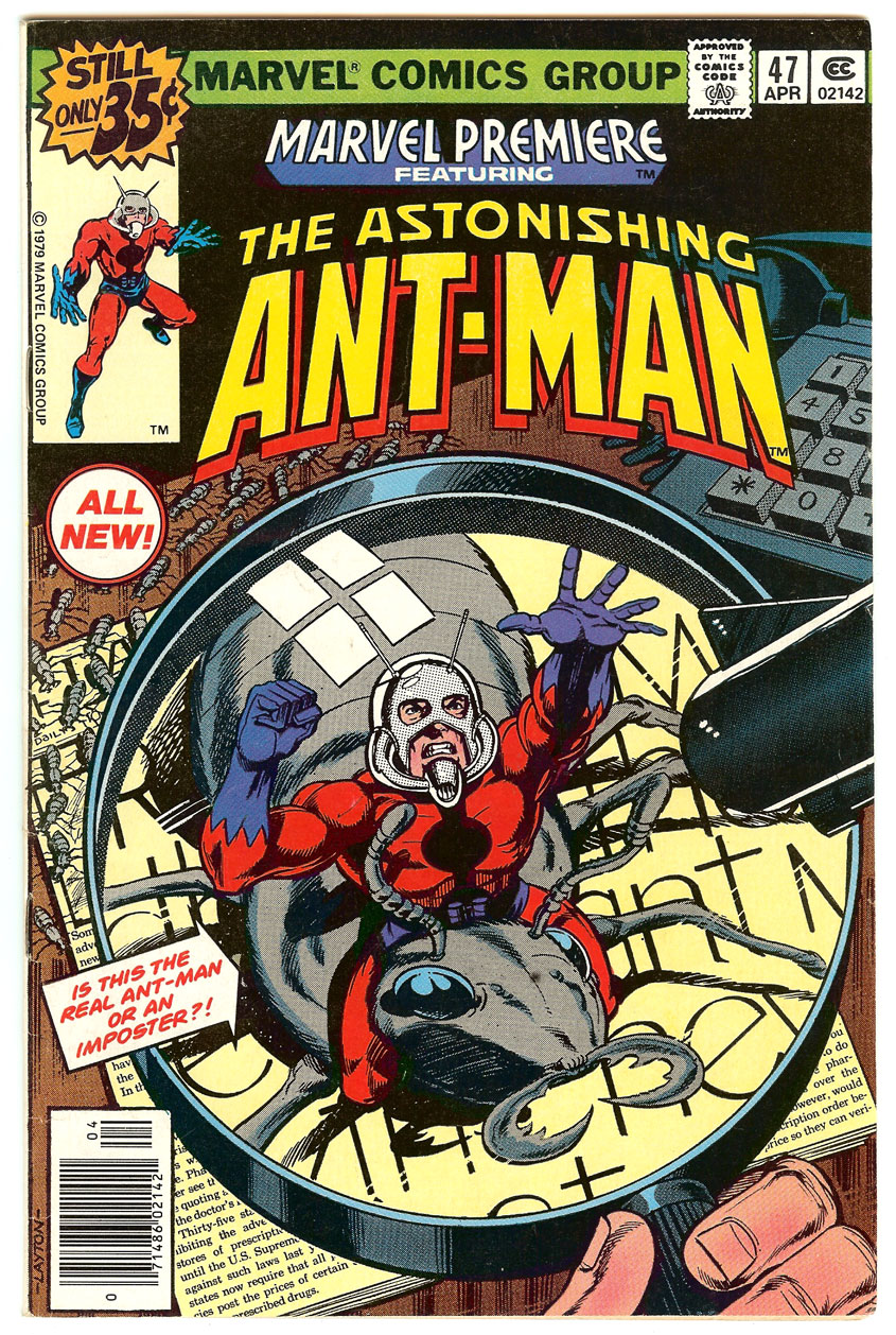 marvel premiere 47 Wait, What the Hells an Ant Man?