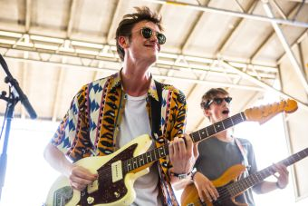 Hippo Campus // Photo by Philip Cosores
