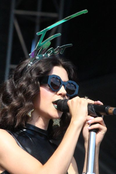 Marina and the Diamonds // Photo by Heather Kaplan