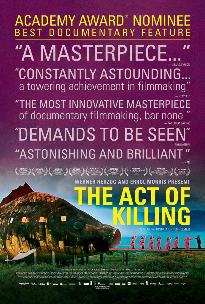 the act of killing To Live Afraid for 50 Years: An Interview with Joshua Oppenheimer