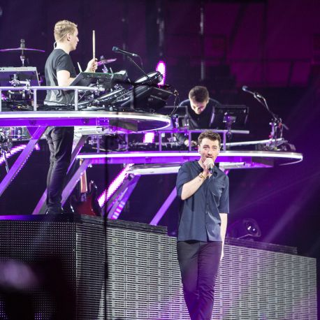 Disclosure with Sam Smith // Photo by Philip Cosores