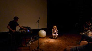 Jenny Hval // Photo by Sasha Geffen