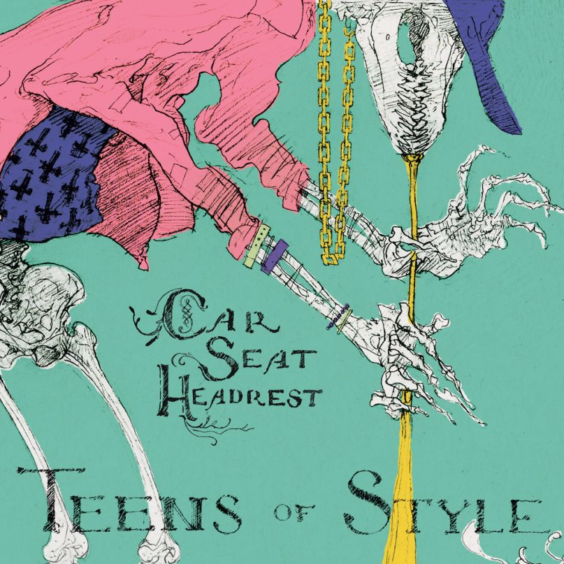 car seat headrest - teens of style album matador