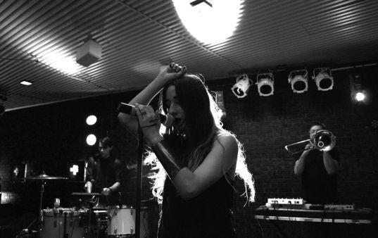 Zola Jesus // Photo by Sasha Geffen