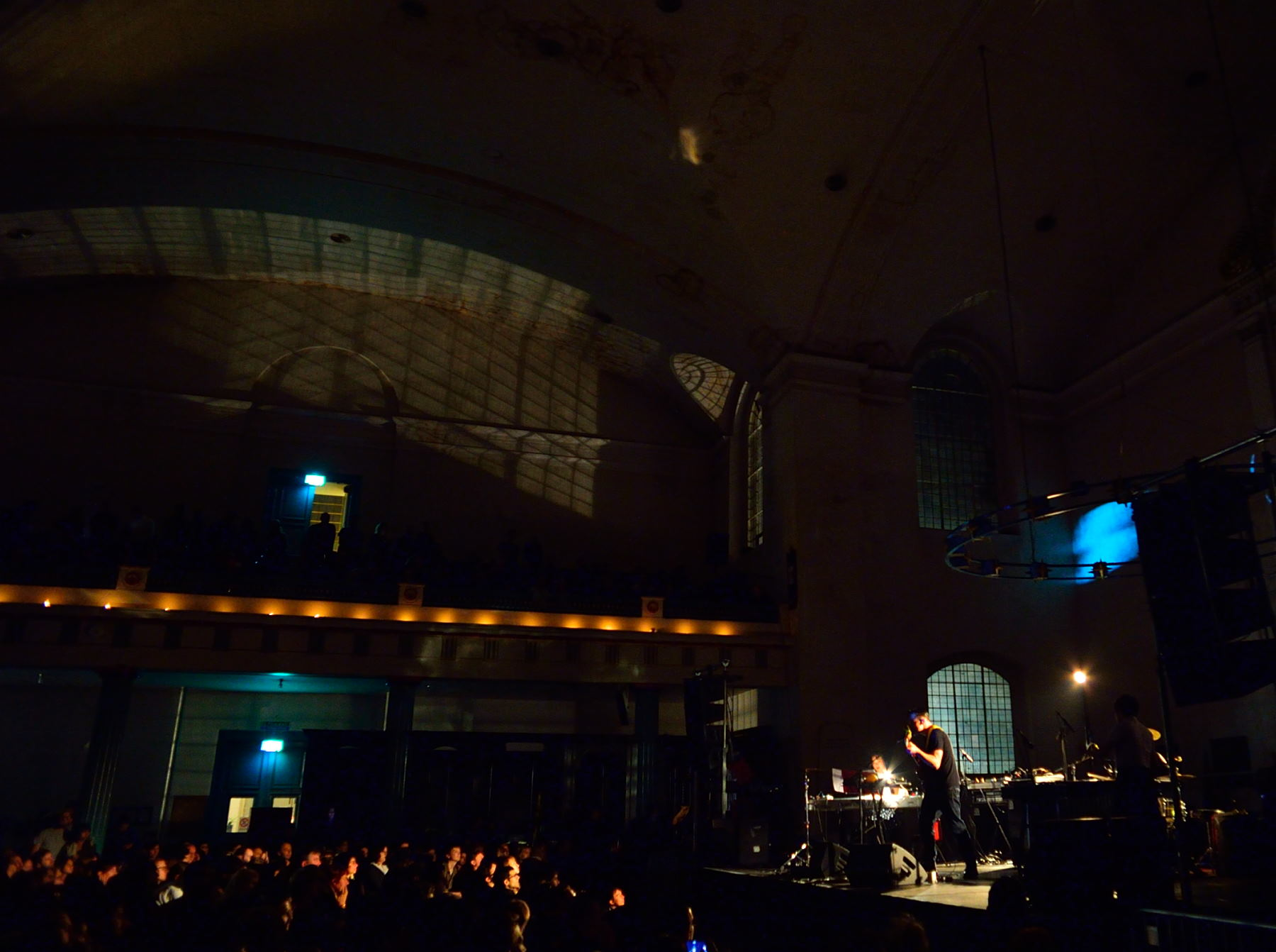 xiu xiu7 Live Review: Xiu Xiu plays the Music of Twin Peaks at Londons Saint John at Hackney (10/8)