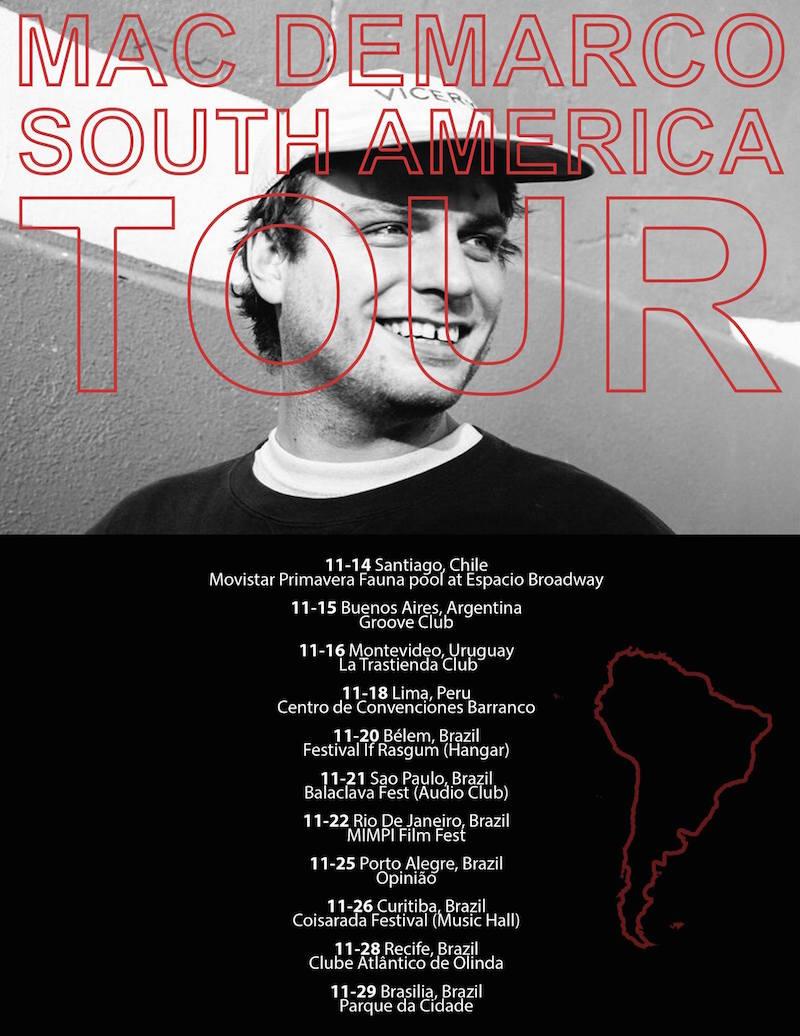 12183742 904491666252619 3004152466241548713 o Mac DeMarco announces South American tour
