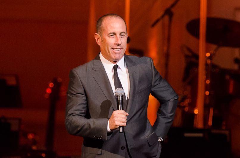 Jerry Seinfeld, photo by Ben Kaye