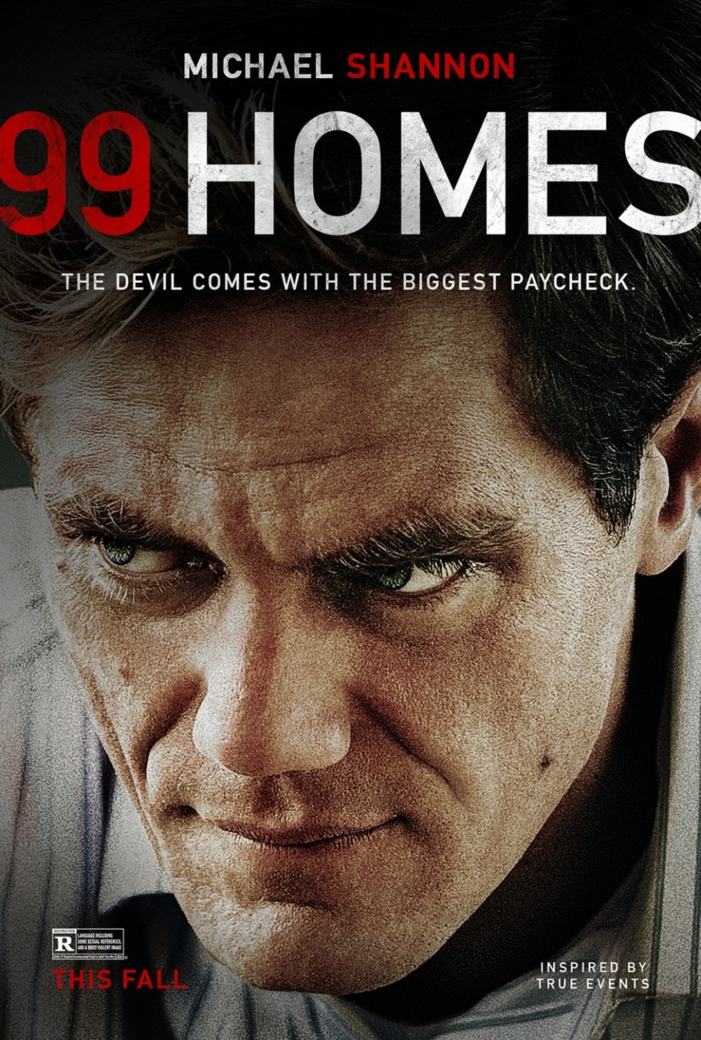 99 homes poster Performance of the Year: Michael Shannon