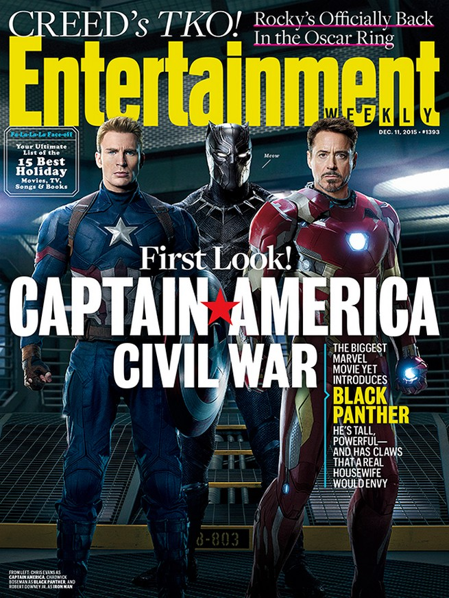 civil war 1393 ew cover 161318 Marvel shares first detailed look at Chadwick Boseman as Black Panther
