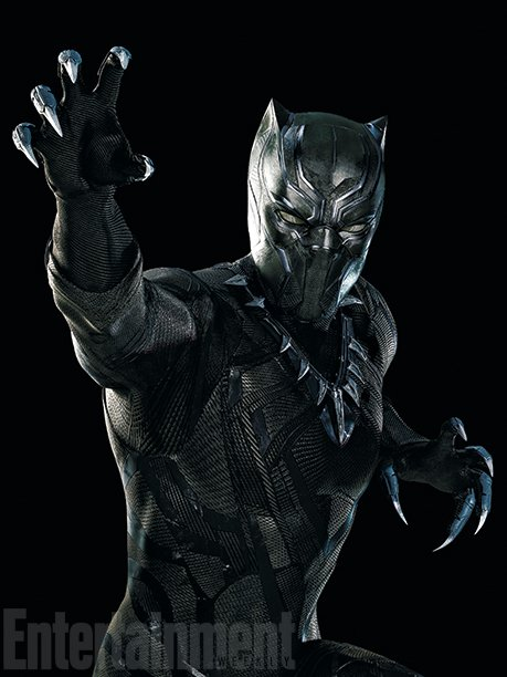 Marvel shares first detailed look at Chadwick Boseman as Black Panther