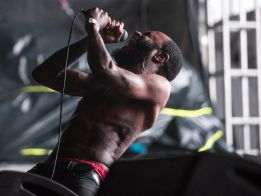 Death Grips // Photo by David Brendan Hall