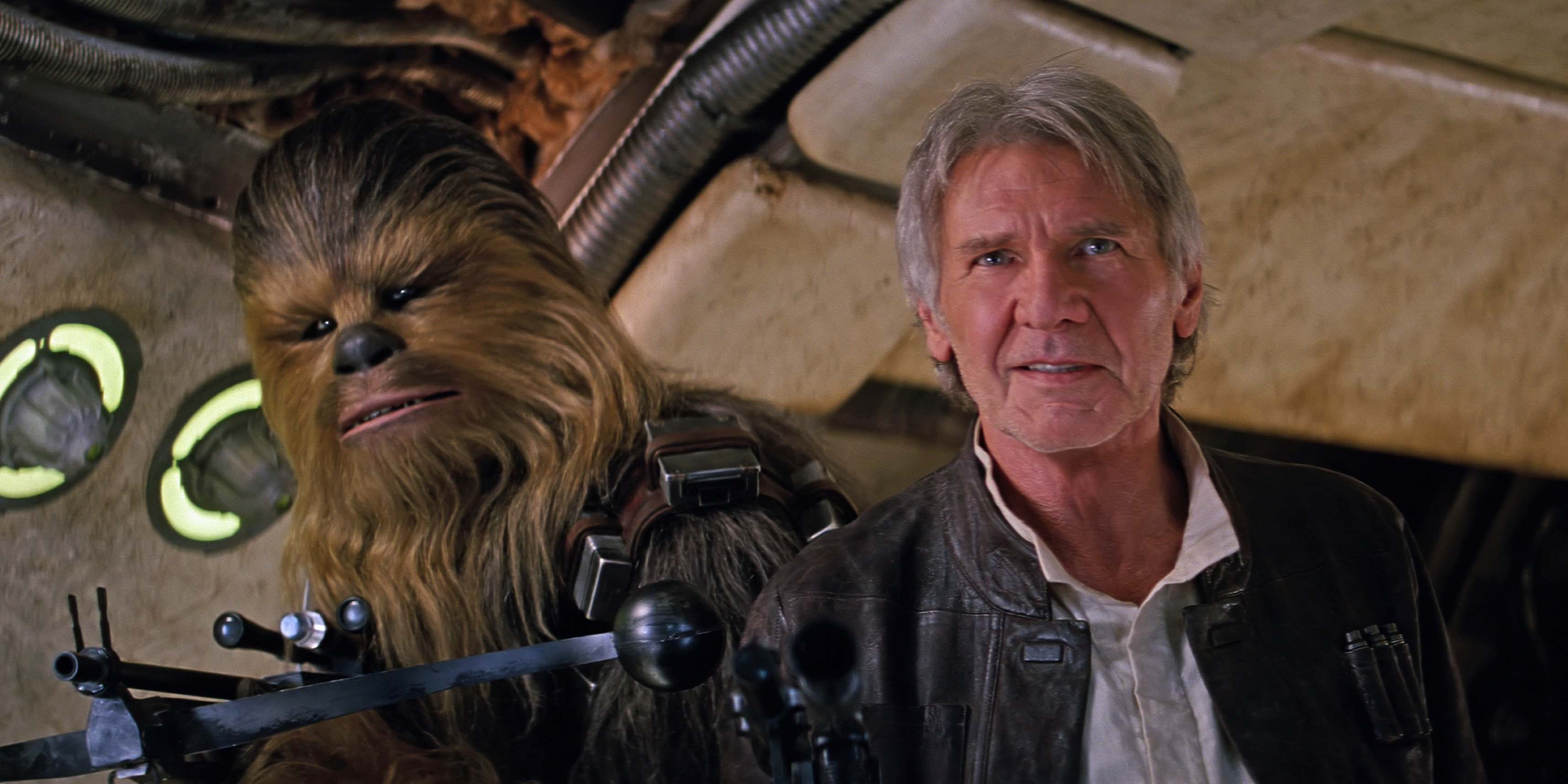 han solo chewbacca Film Review: Star Wars: The Force Awakens