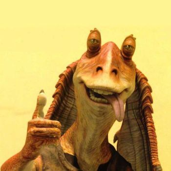 Jar Jar Binks from The Phantom Menace