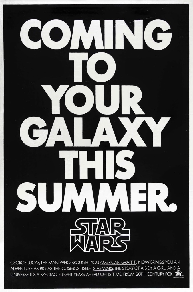 STAR WARS - American Poster 1