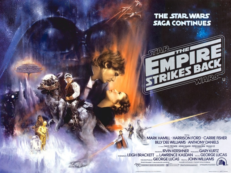 the empire strikes back dream poster Ranking: Every Star Wars Movie and Series from Worst to Best