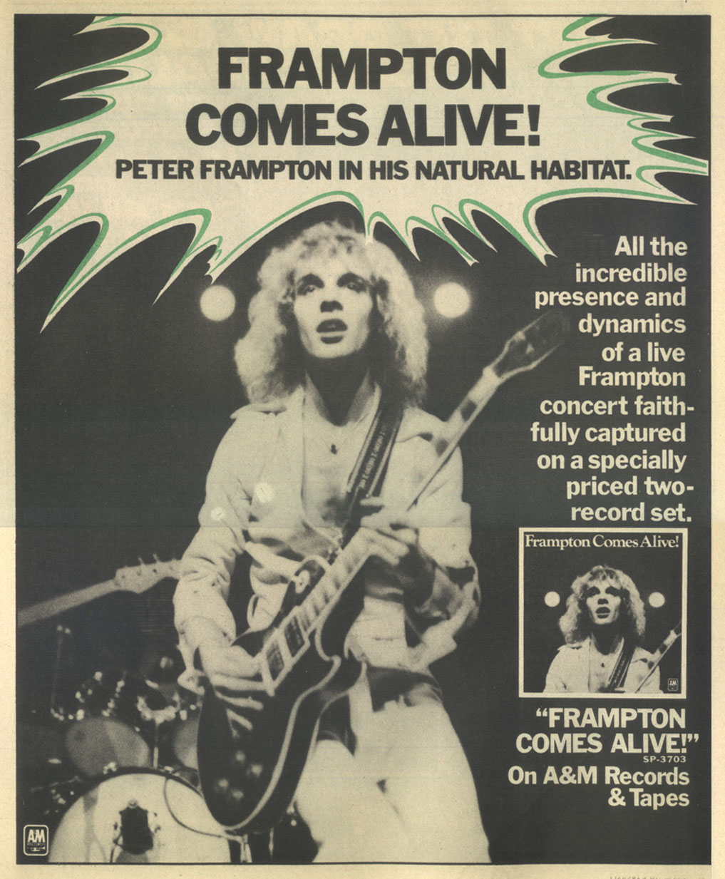 oaaa frampton Frampton Comes Alive! Is Alive and Well 40 Years Later