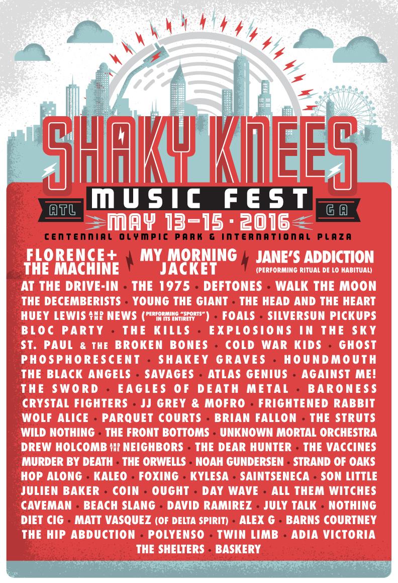 shakyknees16 lineuplistemail351 Win tickets to Shaky Knees Music Festival 2016