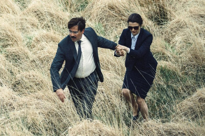 Colin Farrell, Rachel Weisz, The Lobster, A24