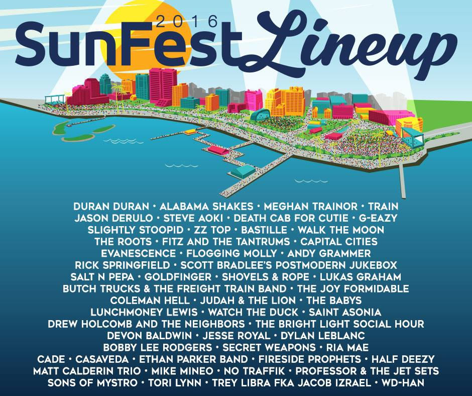12729002 10153284621666196 5323606810531689513 n Win tickets to SunFest 2016