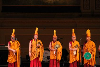 Tibetan Monks // Photo by Killian Young