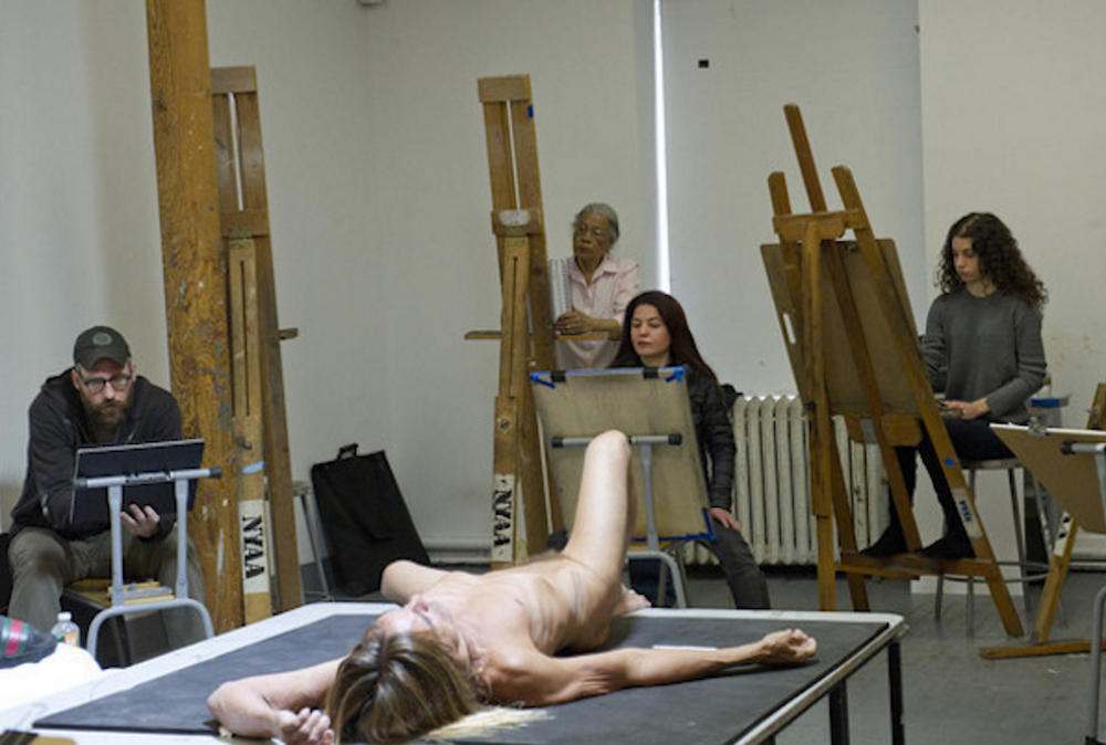 iggy pop nude exhibition art brooklyn museum Iggy Pops nude body is on display at the Brooklyn Museum