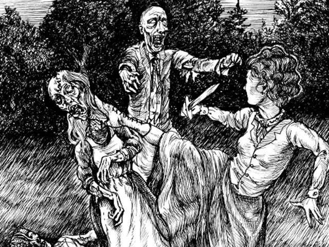 pp zombies1 Would Jane Austen Watch Pride and Prejudice and Zombies?